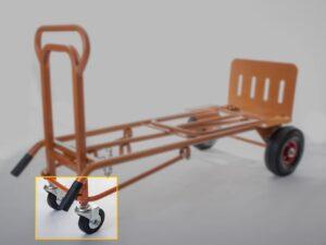 OT-W-13 Swivelling Castors for OT1002 trolley by Ollies Trolleys